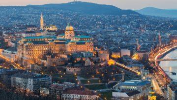 Будапешт Замок Бастион