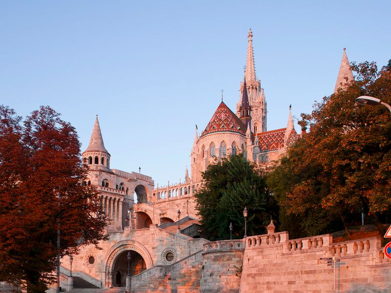 Королевский дворец Будапешт