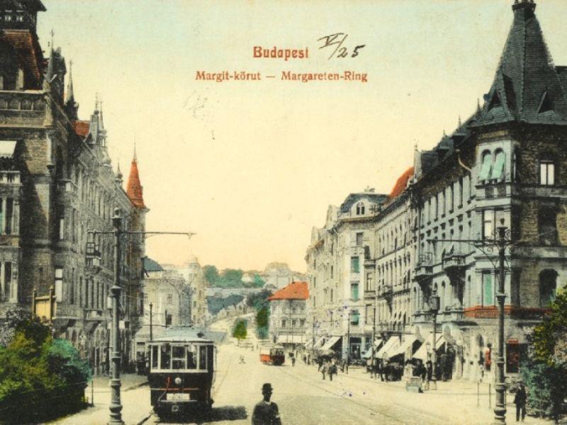 Будапешт старый трамвай