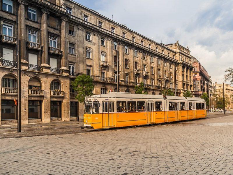 Будапешт трамвай