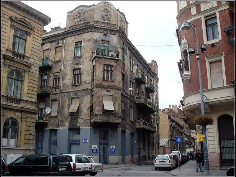 Будапешт еврейский квартал